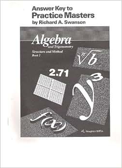 mcdougal littell algebra 1 answer key pdf