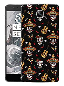 """Mexican GuitarPrinted Designer Mobile Back Cover For """"OnePlus 3"""" (3D, Matte, Premium Quality Snap On Case)"""