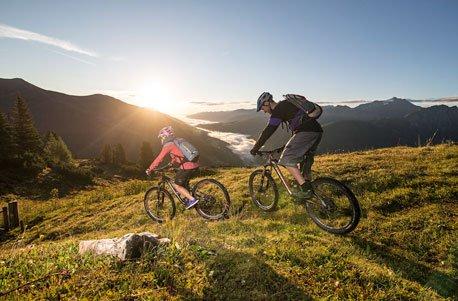 Geschenkgutschein: E-Bike Kurzurlaub in Königsleiten für 2