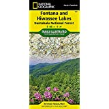 Fontana and Hiwassee Lakes [Nantahala National Forest] (National Geographic Trails Illustrated Map)