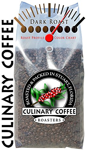Culinary Coffee Roasters- Espresso Blend, Medium To Dark Roasted Whole Bean Coffee, 5-Pound Bag Amazon Special 100% Satisfaction Guaranteed!