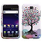 SODIAL(TM) Love Tree Design Snap On Protector Hard Case for Samsung Galaxy S II Skyrocket (AT&T Model SGH-i727 Only)