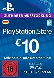 PlayStation Store Guthaben-Aufstockung 10 EUR [PS4, PS3, PS Vita PSN Code - deutsches Konto]