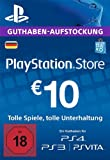 PlayStation Network Card - 10 EUR (für deutsche PSN-Konten) [PSN Code]