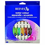 Reeves 18-Pack Water Color Tube Set, 10ml