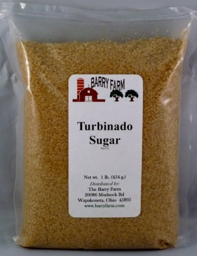 Turbinado Sugar, 1 lb.: Amazon.com: Grocery & Gourmet Food