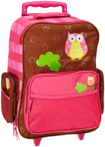 Stephen Joseph Girls Rolling Luggage