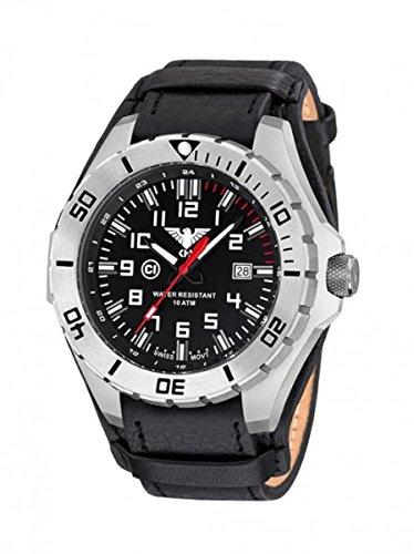 KHS Tactical orologio uomo Landleader Steel KHS.LANS.R