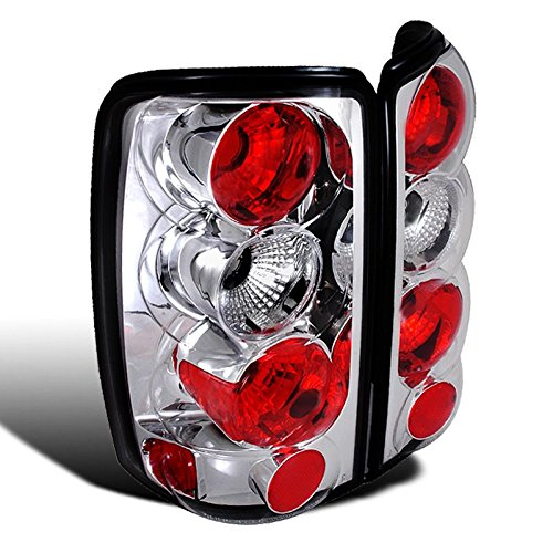 Spec-D Tuning LT-DEN00-TM Gmc Yukon Denali/ Chevy Tahoe Suburban Ls Tail Lights Chrome (2006 Denali Yukon Xl compare prices)