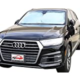 EPAuto Car Windshield Sun Shade - UV Ray Deflector for Full-Size Sedan / SUV / Jeep / Minivan Vehicle Cool and Damage Free (63 x 34 Inches)
