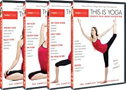 Tara Stiles This is Yoga : 4 DVD Set : Complete Yoga Encyclopedia: Daily Yoga + Beginners Yoga + AM/PM Yoga + Complete Yoga Library for Everyone