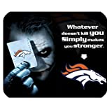 NFL Denver Broncos With Joker Poker High Quality Printing Rectangle Mouse Pad Design Your Own Computer Mousepad For Christmas Gifts at Amazon.com