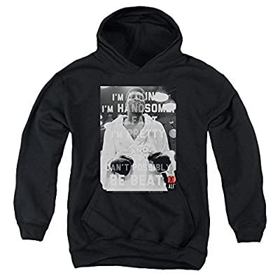 Muhammad Ali Can'T Be Beat Youth Pull Over Hoodie