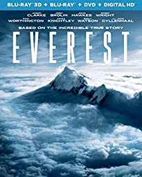 Everest (Blu-ray 3D + Blu-ray + DVD + DIGITAL HD)