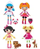 Bundle Buy Mini Lalaloopsy Dolls x 4 - Mittens Fluff n Stuff, Bea Spells a Lot, Snowy Fairest & Holly Sleighbells