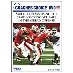 Multiple Plays Using the Same Blocking Schemes in the Spread Offense