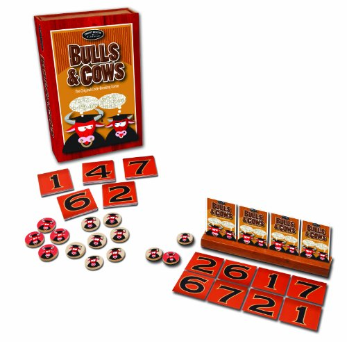 Bulls And Cows Card Game