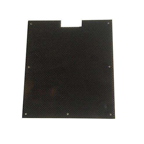 PP3DP beheizbare Druckplatte - 16,5 x 14,5 cm, Cellboard für 3D Drucker, passend für UP! Plus 2