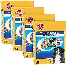PEDIGREE - Dentastix multipack pour grands chiens (+25kg) -  lot de 4- 112 bâtonnets à mâcher en total