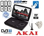 Akai 10-Inch Multiregion Portable Dvd...