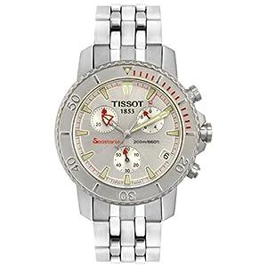 Tissot Men's T19148531 Seastar 660 Chronograph Steel Watch: Tissot