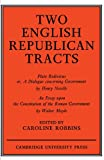 Two English Republican Tracts (0521147484) by Robbins