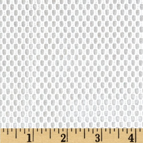 45'' Utility/Weavers Mesh White Fabric By The Yard