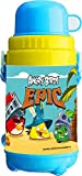 Rovio Angry Bird Water Bottle Insulated with cup, 55mm, Blue/Yellow