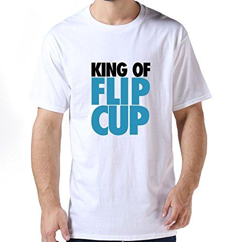 Unique King Flip Cup Men T Shirt