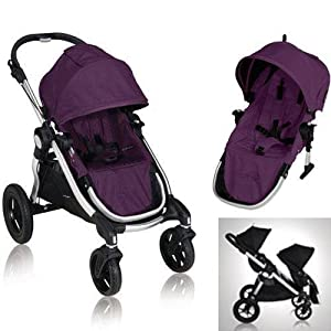 Baby Jogger City Select 2013 Stroller w 2nd Seat, Amethyst by BaJogger