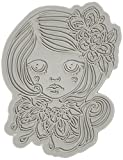 Little Darlings Laila Dollhouse Cling Mounted Rubber Stamp, 3 by 2.3