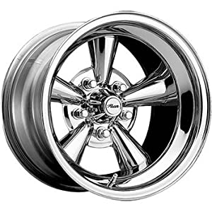 Pacer Supreme 15×8 Chrome Wheel / Rim 5×4.75 with a -22mm Offset and a 80.00 Hub Bore. Partnumber 177C-5834