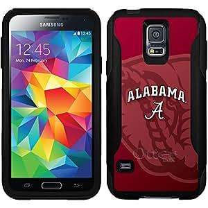 Coveroo Alabama Watermark Design Phone Case for Samsung Galaxy S5 - Retail Packaging - Black/Black