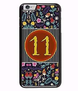 PrintVisa Numeric Designer Back Case Cover for Apple iphone 6 Plus (5.5 inches) -D4760