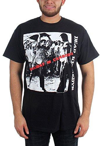 Dead Kennedys Holiday-Maglietta adulto di Cambogia nero