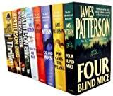 James Patterson James Patterson Alex Cross Collection 11 Books Set Pack (Black Market, Jack and Jill, Kiss the Girls, Along Came a Spider, Cross, Hide and Seek, Pop Goes The Weasel, The Midnight Club, Double Cross, Cat and Mouse, Mary, Mary)
