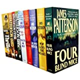 James Patterson Alex Cross Collection 11 Books Set Pack (Black Market, Jack and Jill, Kiss the Girls, Along Came a Spider, Cross, Hide and Seek, Pop Goes The Weasel, The Midnight Club, Double Cross, Cat and Mouse, Mary, Mary)by James Patterson