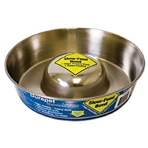 Durapet Slow Feed Bowls - Small 7 1/2""