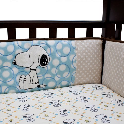 Lambs & Ivy Bff Bumper, Snoopy (Discontinued By Manufacturer) front-947986