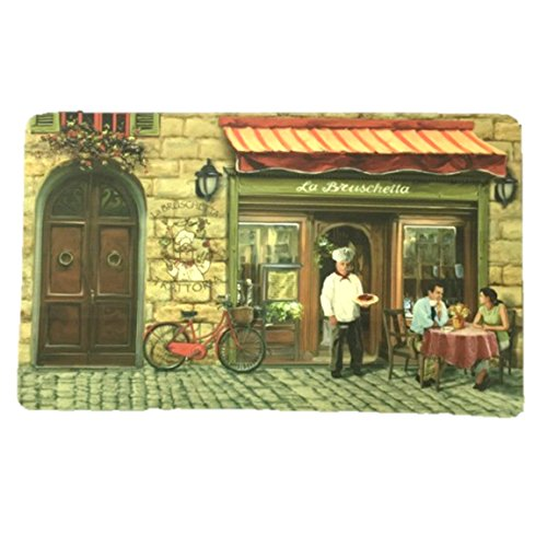 Cushion Comfort La Bruschetta Chef Italian Cafe 18 x 30 Inch Kitchen Fatigue Mat (Italian Chef Kitchen Rug compare prices)