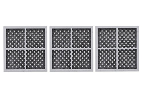 LG LT120F Replacement Refrigerator Air Filter, Pack of 3 (Refrigerator Filters For Lg compare prices)
