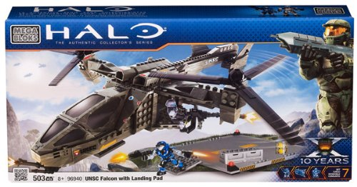 Halo Unsc Hawk Megabloks Halo Unsc Falcon