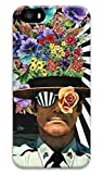 Original Protective Color Print Hard Case Cover with Black Rim for Iphone 5 5S