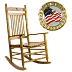 USA Flag Rocking Chair