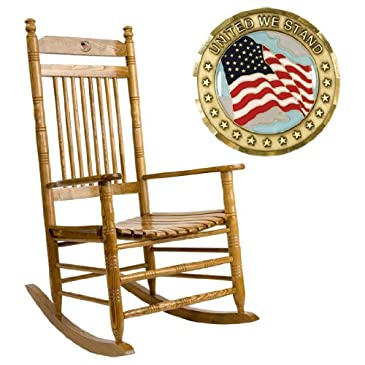 Flag Rocking Chair : Rocking Chairs