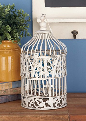 Deco 79 Metal Bird Cage, 22-Inch and 15-Inch, Set of 2 1