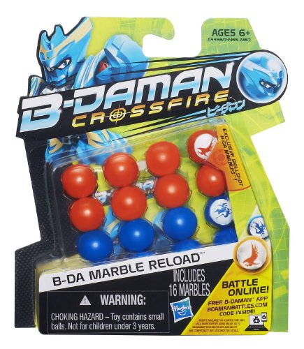 B-Daman Crossfire B-DA Marble Reload [Orange & Blue]
