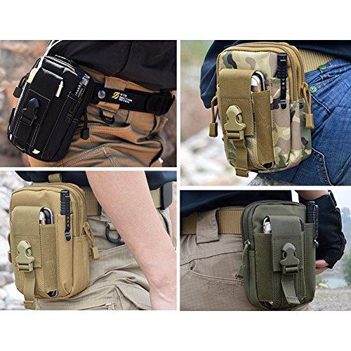 3607f04d659b Mokasi Tactical MOLLE Pouch EDC Utility Waist Belt Gadget Gear Bag ...