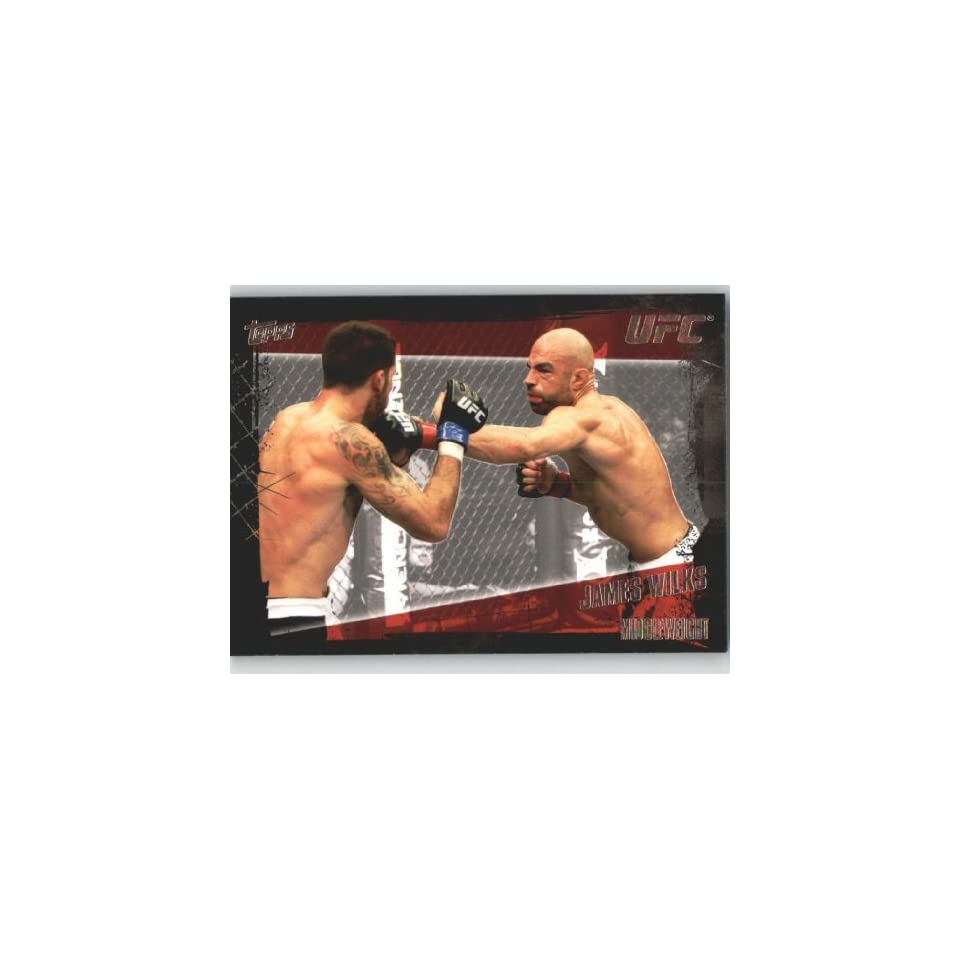 2010 Topps UFC Trading Card # 117 James Wilks (Ultimate