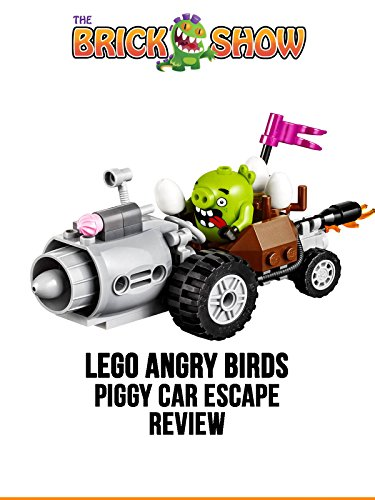 LEGO Angry Birds Piggy Car Escape Review (75821)